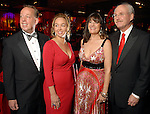Chairs Dr. David Brown and his wife Julie along with Ellie and Michael Francisco at the American Heart Association Heart Ball at the Hilton Americas Houston Saturday Feb 07, 2009.(Dave Rossman/For the Chronicle)