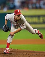 Moyer, Jamie 6158.jpg Philadelphia Phillies at Houston Astros. Major League Baseball. September 7th, 2009 at Minute Maid Park in Houston, Texas. Photo by Andrew Woolley.