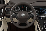 Car pictures of steering wheel view of a 2018 Buick LaCrosse Essence 4 Door Sedan Steering Wheel