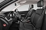 Front seat view of a 2014 Fiat FREEMONT LOUNGE 5 Door SUV 2WD Front Seat car photos