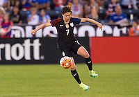 Denver, CO - June 2, 2016: The USWNT tied Japan 3-3 during their friendly at Dick's Sporting Goods Park.