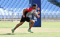 Warriors  training at Carisbrook,  Dunedin, New Zealand, Friday, February 20, 2013. Credit:NINZ / Dianne Manson.