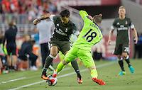 Santa Clara, CA - July, 30 2016: Liverpool defeated A.C. Milan 2-0 during an International Champions Cup match at Levi's Stadium
