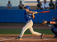 Jesuit Tigers Jack Martinez (10) bats during a game against the IMG Academy Ascenders on April 21, 2021 at IMG Academy in Bradenton, Florida.  (Mike Janes/Four Seam Images)