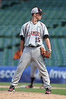 Kyle Smith during the 2010 Under Armour All-American Game powered by Baseball Factory at Wrigley Field in Chicago, New York;  August 14, 2010.  Photo By Mike Janes/Four Seam Images