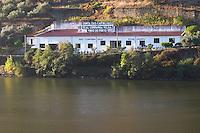 douro river and steep vineyards quinta das carvalhas douro portugal