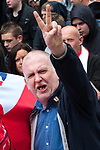 © Joel Goodman - 07973 332324 - all rights reserved . 29/05/2010 . Newcastle , UK . The English Defence League hold and march and rally in Newcastle City Centre . Photo credit : Joel Goodman