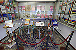 Race winning jerseys and bikes on display in reception, Santini Factory, Lallio, Italy. 30th September 2015.<br /> Picture: Eoin Clarke | Newsfile