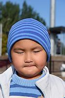 Kind in Bishkek, Kirgistan, Asien<br /> Child i  Bishkek, Kirgistan, Asia