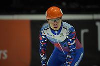 SPEEDSKATING: DORDRECHT: 05-03-2021, ISU World Short Track Speedskating Championships, Heats 500m Men, Semen Elistratov (RSU), ©photo Martin de Jong