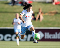 Karen Carney #14 of the Chicago Red Stars during a WPS match against the Washington Freedom on July 4 2010 at the Maryland Soccerplex, in Boyds, Maryland. The match ended in a 0-0 tie.