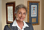 Nancy Willerson, who was recently honored with the establishment of the Nancy B. Willerson Porfessorship in Nursing at the University of Texas Health Science Center at Houston School of Nursing, at home Friday March 14,2008.(Dave Rossman/For the Chronicle)