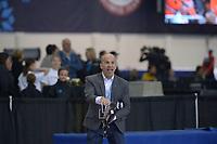 SPEEDSKATING: 13-02-2020, Utah Olympic Oval, ISU World Single Distances Speed Skating Championship, Derek Parra (Director of Youth Outreach at Utah Olympic Legacy), ©Martin de Jong