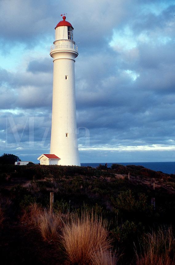 Split Point, Lighthouse, Aireys Inlet, Victoria, Australia, seascape, coastal.