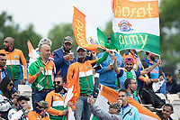 The Bharat army provided plenty of support for India during India vs New Zealand, ICC World Test Championship Final Cricket at The Hampshire Bowl on 19th June 2021