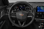 Car pictures of steering wheel view of a 2020 Cadillac CT4-V V-Series 4 Door Sedan Steering Wheel