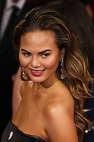 HOLLYWOOD, LOS ANGELES, CA, USA - MARCH 02: Christine Teigen at the 86th Annual Academy Awards held at Dolby Theatre on March 2, 2014 in Hollywood, Los Angeles, California, United States. (Photo by Xavier Collin/Celebrity Monitor)