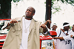 """Baby aka Birdman Co CEO of Cash Money Records on the """"Big Tymers """"Oh Yeah"""" video shoot in New Orleans, Louisiana.  Photo credit: Elgin Edmonds / Presswire News New Orleans, Louisiana - May 8, 2002:  The Cash Money Records """"Big Tymers"""" shooting their video """"Oh Yeah"""" on Lake Poncthartrain.  Photo credit: Elgin Edmonds / Presswire News"""