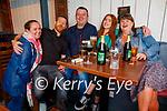 Enjoying the evening in Teach Beag on Saturday, l to r: Brid Collins, Adrian Flynn, Fergus Whelan, Chloe Lynn and Elizabeth Hartney.