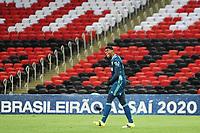 Rio de Janeiro (RJ), 04/02/2021 - Flamengo -Vasco - Hugo goleiro do Flamengo,durante partida contra o Vasco,válida pela 34ª rodada do Campeonato Brasileiro 2020, realizada no Estádio Jornalista Mário Filho (Maracanã), na zona norte do Rio de Janeiro, nesta quinta-feira (04).