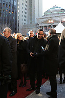 Gregory Charles attend  the funeral of Rene Angelil, , Friday Jan. 22, 2016 at Notre-Dame Basilica in Montreal, Canada.<br /> <br /> <br /> <br /> <br /> <br /> <br /> <br /> <br /> <br /> <br /> <br /> <br /> <br /> .