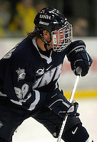 "5 January 2007: University of New Hampshire forward Matt Fornataro (39) from Calgary, AB, in action against the University of Vermont Catamounts at Gutterson Fieldhouse in Burlington, Vermont. The UNH Wildcats defeated Vermont 7-1 in front of a record setting 48th consecutive sellout at ""the Gut""...Mandatory Photo Credit: Ed Wolfstein Photo.<br />"