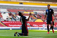 GUADALAJARA, MEXICO - MARCH 18: Jesus Ferreira #9 of the United States celebrates scoring during a game between Costa Rica and USMNT U-23 at Estadio Jalisco on March 18, 2021 in Guadalajara, Mexico.