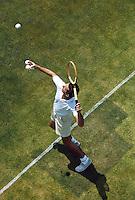 Tennis at the Rockaway Hunting Club, Lawrence, NY 1965. Photographer John G. Zimmerman.