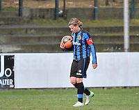 Club Brugge Dames - Heerenveen : Angelique De Wulf<br /> foto Joke Vuylsteke / nikonpro.be