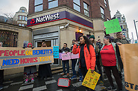 London Renters Union Nat West Demo 24-11-18