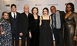 """Jenni Barber, Benjamin Walker, Tracy Letts, Annette Bening, Francesca Carpanini, Hampton Fluker and Chinasa Ogbuagu attends the Broadway Opening Night After Party for """"All My Sons"""" at The American Airlines Theatre on April 22, 2019  in New York City."""