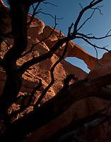 Skyline Arch, Arches National Park, Utah.