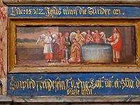 Detail von Seitenkapelle im Dom St. Nikolai, Greifswald,  Mecklenburg-Vorpommern, Deutschland, Europa<br /> side chapel in church St. Nikolai, Greifswald, Mecklenburg-Hither Pomerania, Germany, Europe
