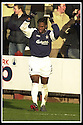 25/1/03       Copyright Pic : James Stewart                  .File Name : stewart-falkirk v hearts 19.COLLIN SAMUEL CELEBRATES AFTER SCORING FALKIRK'S FIRST GOAL............James Stewart Photo Agency, 19 Carronlea Drive, Falkirk. FK2 8DN      Vat Reg No. 607 6932 25.Office : +44 (0)1324 570906     .Mobile : + 44 (0)7721 416997.Fax     :  +44 (0)1324 570906.E-mail : jim@jspa.co.uk.If you require further information then contact Jim Stewart on any of the numbers above.........