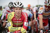 Laurens Sweeck (BEL/Corendon-Kwadro) on the U23 start line<br /> <br /> GP Mario De Clercq 2014<br /> Hotond Cross<br /> CX BPost Bank Trofee - Ronse