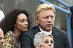 11.09.2011, Flushing Meadows, New York, USA, WTA Tour, US Open, Finale im einzel der Damen, im Bild . FORMER TENNIS PLAYER BORIS BECKER  AND HIS WIFE SHARLELY KERSSENBERG // during WTA Tour US Open tennis tournament at Flushing Meadows, women singles final, New York, USA on 11/09/2011. EXPA Pictures © 2011, PhotoCredit: EXPA/ Newspix/ Marek Janikowski +++++ ATTENTION - FOR AUSTRIA/(AUT), SLOVENIA/(SLO), SERBIA/(SRB), CROATIA/(CRO), SWISS/(SUI) and SWEDEN/(SWE) CLIENT ONLY +++++