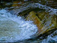 """""""BIG CREEK MELTDOWN""""<br /> <br /> Water boils on Big Creek in Montana during the spring melt. 24 x 36 signed, original, gallery wrapped wrapped canvas $2,500. Check for availability"""
