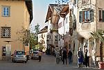 Italy, Alto Adige - Trentino (South Tyrol), Caldaro sulla strada del vino: village center | Italien, Suedtirol, Kaltern-Dorf: im Ortszentrum