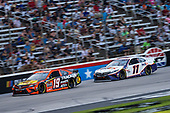 #19: Martin Truex Jr., Joe Gibbs Racing, Toyota Camry Bass Pro Shops, #11: Denny Hamlin, Joe Gibbs Racing, Toyota Camry FedEx Office