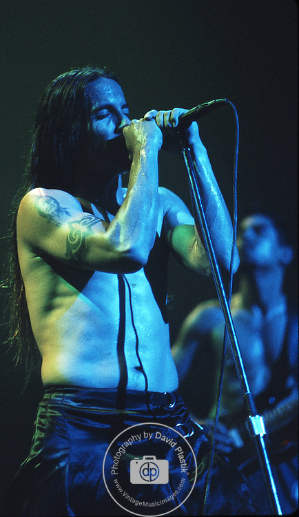 RED HOT CHILI PEPPERS Performs in New York City,.Photo Credit: Eddie Malluk/Atlas Icons.com