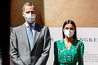 GRANADA, SPAIN-  June 10: **NO SPAIN** King Felipe and Queen Letizia visit La Alhambra and attend the Design and Innovation awards in Granada, Spain on June10, 2021. <br /> CAP/MPI/RJO<br /> ©RJO/MPI/Capital Pictures