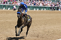 30th April 2021; Kentucky, USA;  Mayfield (6) ridden by Jose Ortiz wins the 18th running of The Alysheba during Oaks Day on April 30, 2021 at Churchill Downs in Louisville, Kentucky.