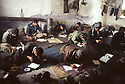 Iran 1981.Ouchnavieh: lecture for first-aid worker of KDPI ( Kurdish Party)