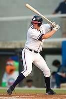 Danville Braves shortstop Chase Fontaine stands in to take his swings versus the Greeneville Astros at American Legion Field in Danville, VA, Saturday, July 1, 2006.