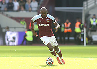 Angelo Ogbonna of West Ham in action during West Ham United vs Brentford, Premier League Football at The London Stadium on 3rd October 2021