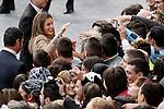 Princess Letizia of Spain visits Caspe village on November 7, 2012 in Alcaniz, Teruel, Spain. (ALTERPHOTOS/Acero)