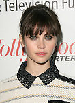"""Felicity Jones at """"Reel Stories, Real Lives"""" Celebration of the Motion Picture & Television Fund's 90 Years of Service to the Community and Recognizes The Hollywood Reporter's Next Generation Class of 2011 held at Milk Studios in Los Angeles, California on November 05,2011                                                                               © 2011 Hollywood Press Agency"""