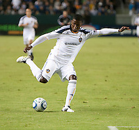 CARSON, CA – SEPTEMBER 18:  LA Galaxy forward Edson Buddle (14) during a soccer match at Home Depot Center, September 18, 2010 in Carson California. Final score LA Galaxy 2, DC United 1.