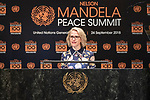 Opening Plenary Meeting of the Nelson Mandela Peace Summit<br /> <br /> Liecthsteine