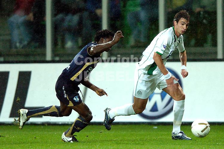 groningen - sparta  eredivisie seizoen 2007-2008 29-09- 2007 lovre *** Local Caption ***